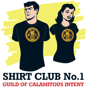 The Venture Bros. - The Amazing Shirt of the Week Club Week 1