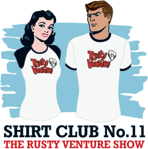 The Venture Bros. - The Amazing Shirt of the Week Club Week 11