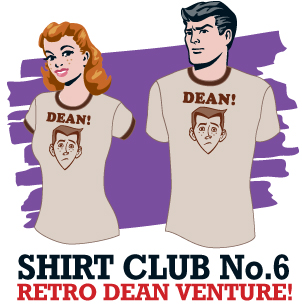 The Venture Bros. - The Amazing Shirt of the Week Club Week 6